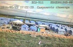 campo damnificados ecuador